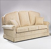 The Burlington 3 Seater Sofa: Available in many variations with wings and lumbar supports. This tradition ...click for more