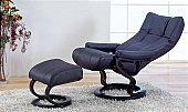 Wye Recliner Chair: Wye recliner is available in 4 sizes - 360degree rotation<br />Chairs featu ...click for more