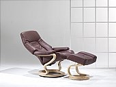 Zerostress 7776 Recliner: A beautiful back can delight as much as an attractive face - especially the ...click for more