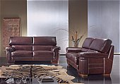 Agora Leather Sofa