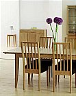 Artisan Dining Set: This is a new collection combining the simple true beauty of oak timber wit ...click for more
