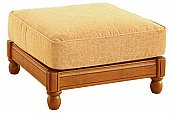 Bergere Footstool: All these models are available with either plain or piped seams and cane or ...click for more