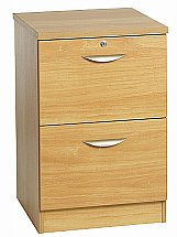 Vale Furnishers - Modular Two Drawer Filing Cabinet
