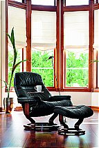 Stressless Sunrise Recliner Chair in Black