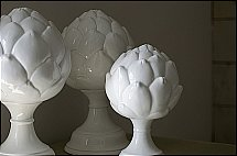 Neptune Ashby Artichoke Ornaments