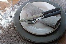 Neptune Aston 24Pcs Cutlery Set - Smoke