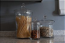 Neptune - Belmont Glass Jars with Lid