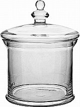 Neptune - Belmont Glass Jar with Lid  - 180mm