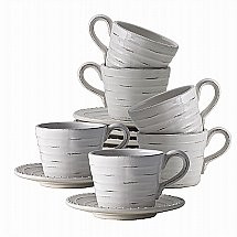 Neptune - Bowsley Cup And Saucer Box of 6