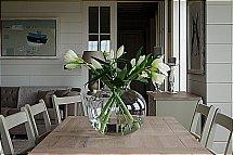 Neptune Charlton Glass Vase