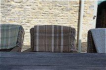 Neptune Cotswold Heather Check Throw - Apple