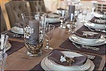Neptune Kennington Glass Hurricane Lantern Vase