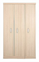 Vale Furnishers - Banbury Three Door Wardrobe