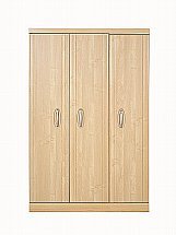 Vale Furnishers - Banbury Three Door Short Wardrobe