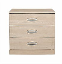 Vale Furnishers - Banbury Three Drawer Wide Chest