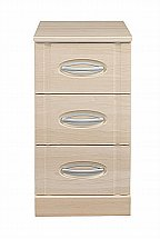 Vale Furnishers - Banbury Three Drawer Narrow Chest