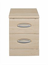 Vale Furnishers - Banbury Two Drawer Narrow Chest