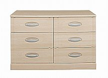 Vale Furnishers - Banbury Six Drawer Wide Chest