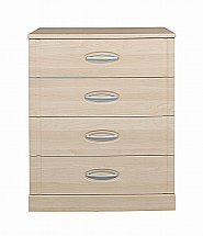 Vale Furnishers - Banbury Four Drawer Wide Chest