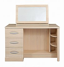 Vale Furnishers - Banbury Dressing Table & Free Standing Mirror