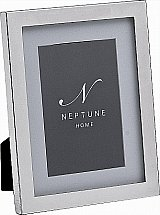 Neptune - Newton Silver Plated Photo Frame With Mounts