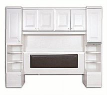 Vale Furnishers - Regatta Overbed Surround and Headboard