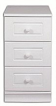 Vale Furnishers - Regatta Three Drawer Narrow Chest