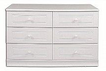 Vale Furnishers - Regatta Six Drawer Wide Chest