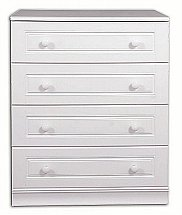 Vale Furnishers - Regatta Four Drawer Wide Chest