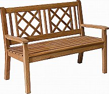 Neptune - Canterbury Lattice Back 4Ft Bench