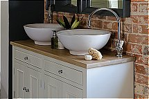Neptune - Chichester 1240mm Oak Countertop Washstand