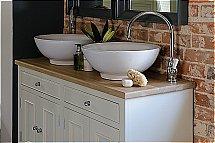 Neptune - Chichester 1240mm Oak Countertop Washstand