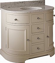 Neptune - Chichester 960mm Undermount Curved Washstand