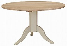 Neptune - Chichester 120cm Pedestal Oak Table