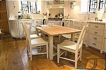 Neptune - Chichester Rectangular Oak Table + Chairs