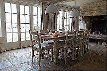 Neptune - Chichester Rectangular Oak Table - 220cm + Chairs