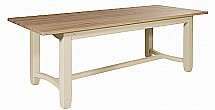 Neptune - Chichester Rectangular Oak Table - 220cm + Chairs