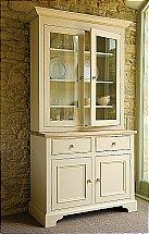 Neptune Chichester 3Ft 6 Glazed Rack Dresser