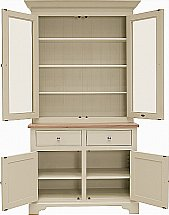 Neptune - Chichester 3Ft 6 Glazed Rack Dresser