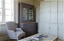 Neptune Chichester 4Ft Glazed Rack Dresser