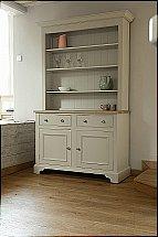 Neptune - Chichester 4Ft Open Rack Dresser - Limestone