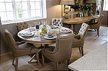 Neptune - Henley Pedestal Table  and Chairs
