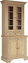Neptune - Henley 3Ft Glazed Rack Oak Dresser