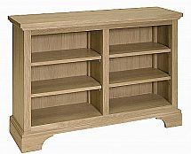 Neptune - Henley 4Ft Oak Wine Rack / Bookcase