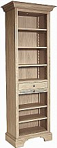 Neptune - Henley Full Height Oak Wine Rack / Bookcase