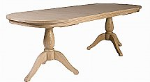 Neptune - Henley Oval 170-270cm Extending Oak Dining Table