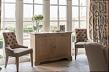 Neptune - Henley Upholstered Linen Dining Chair and Sideboard
