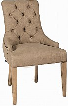 Neptune - Henley Upholstered Linen Dining Chair