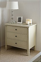 Neptune Larrson 3 Drawer Low Chest Of Drawers