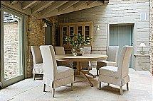 Neptune Long Island Linen Chair